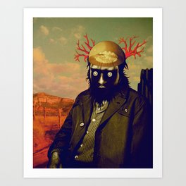king of the desert Art Print