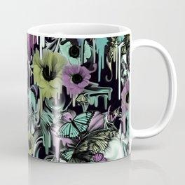 Mrs. Sandman, melting rose skull pattern Coffee Mug