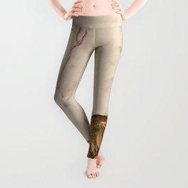 "Egon Schiele ""Nude with Blue Stockings, Bending Forward"" Leggings"