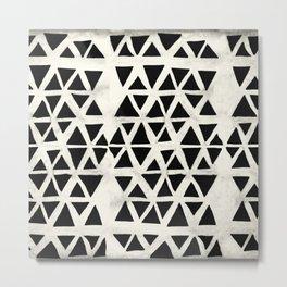 Tribal Geometric Metal Print
