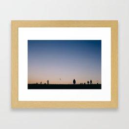 Hampstead Heath Framed Art Print