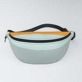 Zen Ocean Stripes Fanny Pack