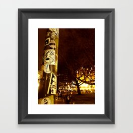 Birita Sticker 6 - Amsterdam Framed Art Print