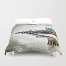 Provincetown Massachusetts Photograph Duvet Cover