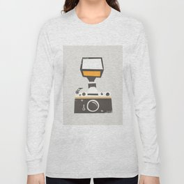 SLR Camera Long Sleeve T-shirt