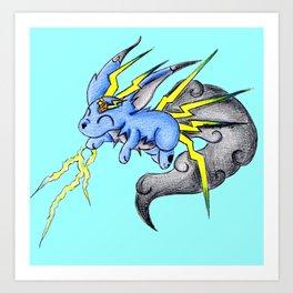 Bolt Carbuncle Art Print