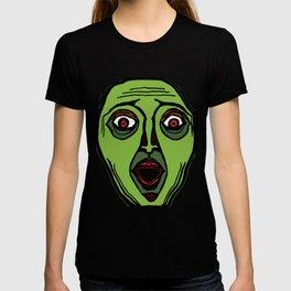 Fright Face (transparent) T-shirt