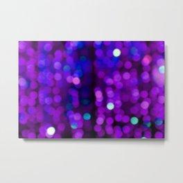 Purple Disco Metal Print