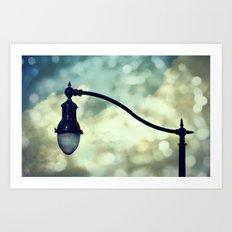 Enlighten Me Art Print