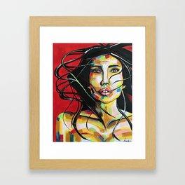 Beauiful mess Framed Art Print