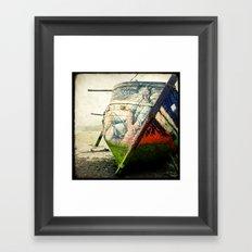 Boat Wreck #12 Framed Art Print