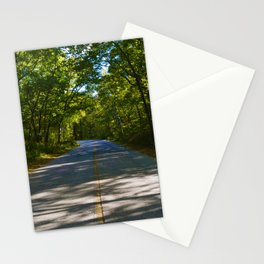 The road to Point Pelee National Park, Ontario Canada Stationery Cards