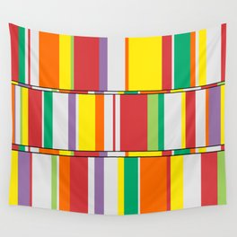 Color Stack Wall Tapestry