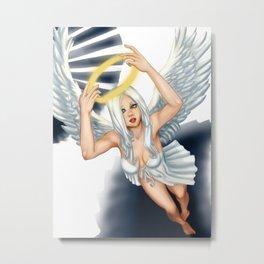 Descended Angel Metal Print