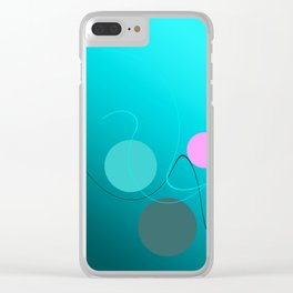 The 3 dots, power game 4 Clear iPhone Case