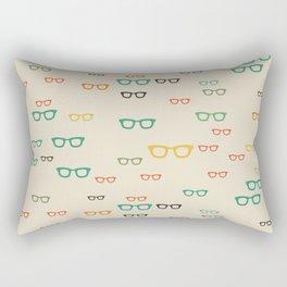 PUT YOUR GLASSES ON Rectangular Pillow
