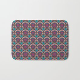 Symmetrical Art // Geometric Art // 2021_001 Bath Mat