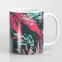 jungle Mugs featuring Jungle by theroyalbubblemaker