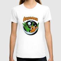 aquaman T-shirts featuring aquaman by Craig Bostick
