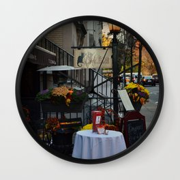 A Little bit of Paris in NYC Wall Clock