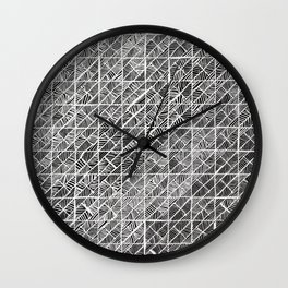 Spider Web Inverted Wall Clock