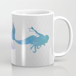 blue & purple mermaid Coffee Mug