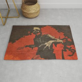 Do Your Part to Stop the Zombie Uprising Rug