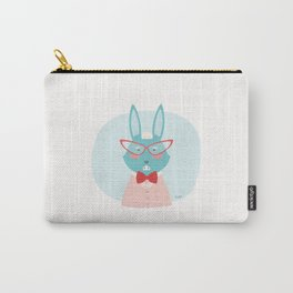 Fancy Rabbit Carry-All Pouch