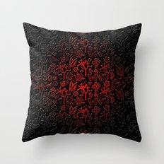 Joshua Tree Vampiro by CREYES Throw Pillow
