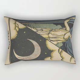 Lune Moon Rectangular Pillow