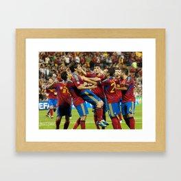 Gol de Silva Framed Art Print