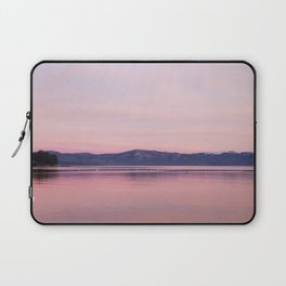 Rose Colored Dream of Lake Tahoe Laptop Sleeve