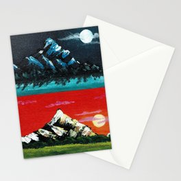 Night and Day Stationery Cards
