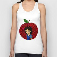 ruby Tank Tops featuring Ruby. by Mickey Spectrum