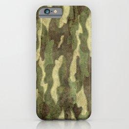 Dirty Camo iPhone Case