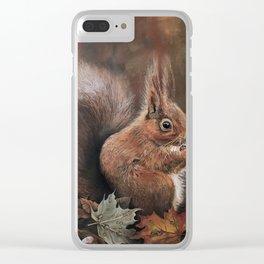 Nutkin Clear iPhone Case