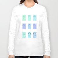 boys Long Sleeve T-shirts featuring Boys Boys Boys by maddsaa