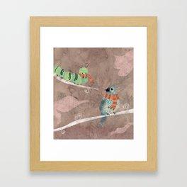 Wool Framed Art Print