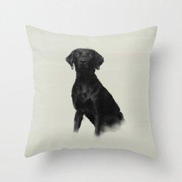 Trixi the Lab Throw Pillow