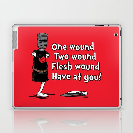 One Wound, Two Wound..... Laptop & iPad Skin