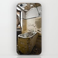 spiritual iPhone & iPod Skins featuring SPIRITUAL ANGST by Julia Lillard Art