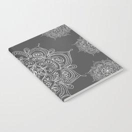 Gray mandala Notebook