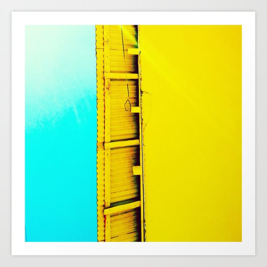 Bright my day Art Print