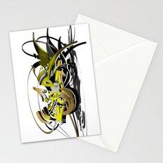 3d graffiti - soul Stationery Cards