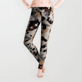 Leopard pattern, jaguar pattern, animal fur Leggings
