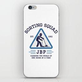 Jordan Peterson - Sorting Squad iPhone Skin