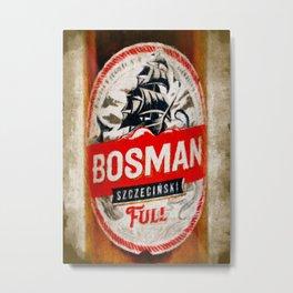 Bosman Beer Metal Print