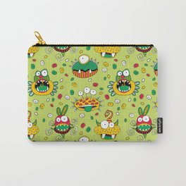 Monster Mash Green Carry-All Pouch