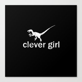 Clever Girl - Jurassic Park Canvas Print