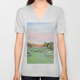 Bethpage State Park Golf Course Unisex V-Neck